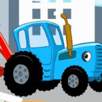 Синий трактор — Экскаватор