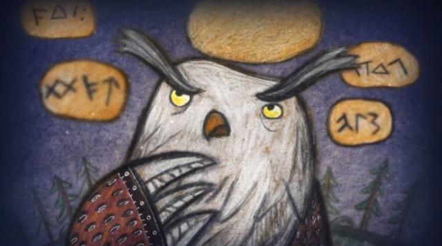 Волшебный фонарь — Волшебные слова Вяйнямёйнена (55 Серия)