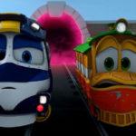 Роботы-поезда – Сбежавший вирус