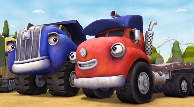 Мультфильмы для мальчиков 3 года про машинки