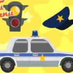 Тачки — Тачки — Светофор и полицейская машина