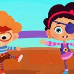 Четверо в кубе — Кубо пираты (5 серия)
