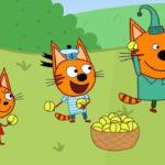 Три кота — Теннис с папой (64 серия)