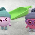 Малышарики — Снег (113 Серия)