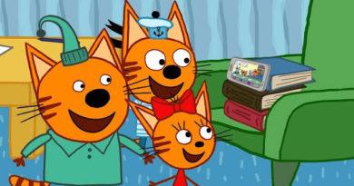 Три кота — Папин телефон (74 серия)