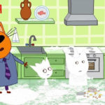 Три кота — Мама заболела (89 серия)