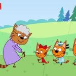 Три кота — Зарядка (92 серия)