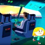 Катя и Эф.Куда-угодно-дверь — Школа полётов (5 Серия)