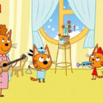 Три кота — Мамин цветок (112 серия)