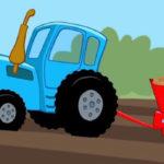 Котенок и волшебный гараж – Работа в поле