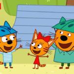 Три кота — Потерянный динозавр (121 серия)