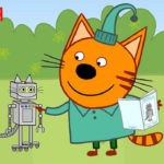 Три кота — Робокот Компота (124 серия)