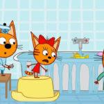 Три кота — Морские игры (129 серия)