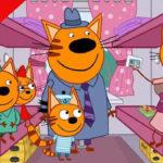Три кота — Путешествие на поезде (131 серия)