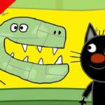 Три кота — Выставка динозавров (130 серия)