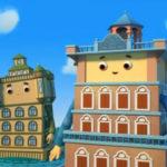 Домики — Башни Дяолоу (47 серия)
