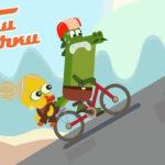 Тачки — Тачки — Скейтборд VS Велосипед