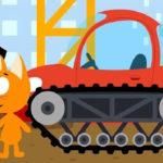 Котенок и волшебный гараж — Стройка