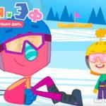 Катя и Эф.Куда-угодно-дверь — Фабрика снега (38 Серия)