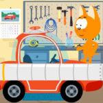 Котенок и волшебный гараж — Ракета