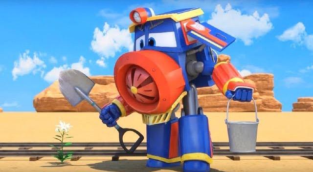Роботы-поезда – Виктор романтик — смотреть мультфильм онлайн