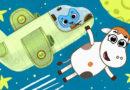 Котики, вперед — Прямо через Луну (103 серия)