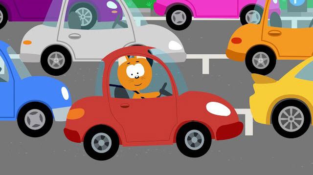 Котенок и волшебный гараж – Парковка — смотреть мультфильм ...