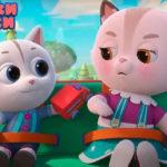 Кошечки-собачки — Качели (10 серия)