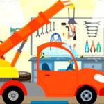 Котенок и волшебный гараж – Автокран