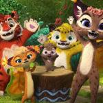 Лео и Тиг. Волшебные песни — Лесные подружки (8 серия)