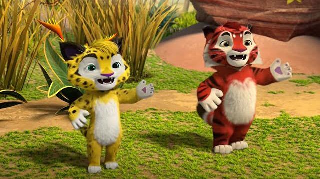 Лео и Тиг. Волшебные песни — Жираф (25 серия)